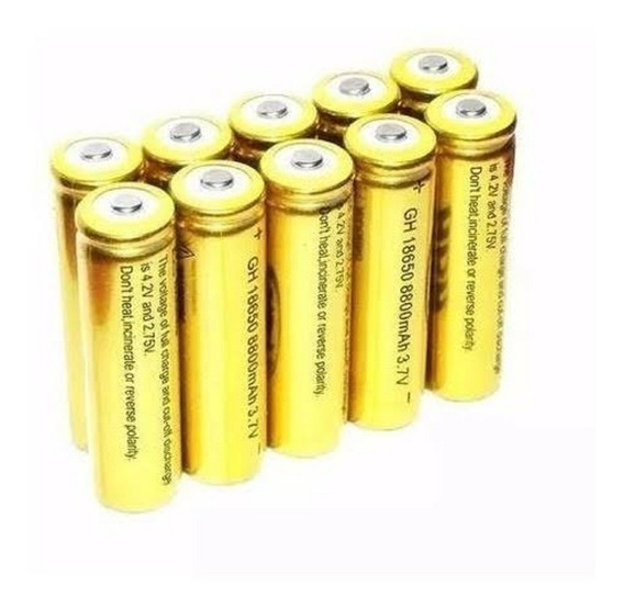 4pç Bateria Recarregavel 18650/5800mah/ 3.7/4.2v/pilha