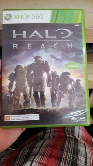 Halo Reach Xbox 360 Mídia Física Português Impecável