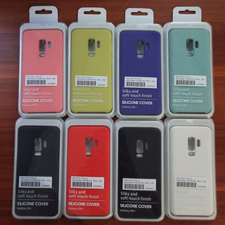 Kit 3 Capas Samsung S9+ Original Silicone