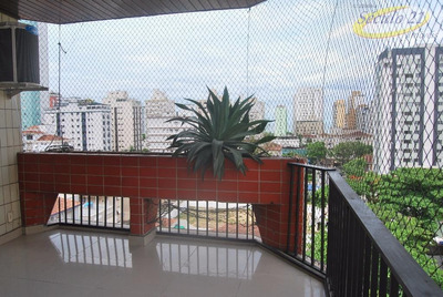 Apartamento Residencial Para Locação, Aparecida, Santos. - Ap4727
