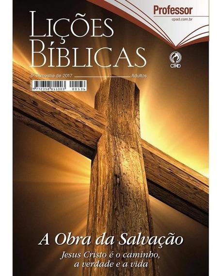 Revista Escola Bíblica Dominical - 4º Tri / 2017 - Professor