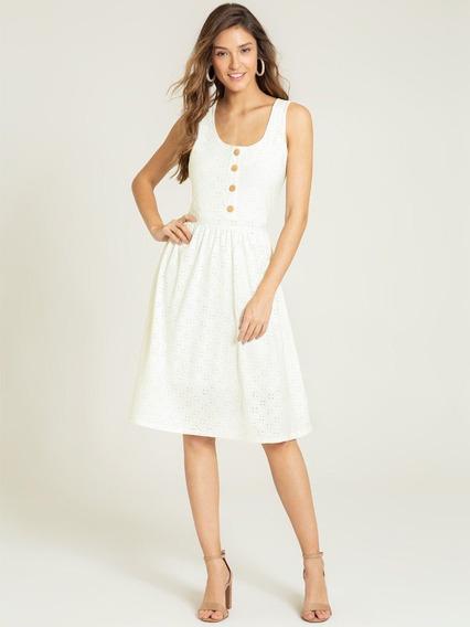 Vestido De Laise Off White Katheryn