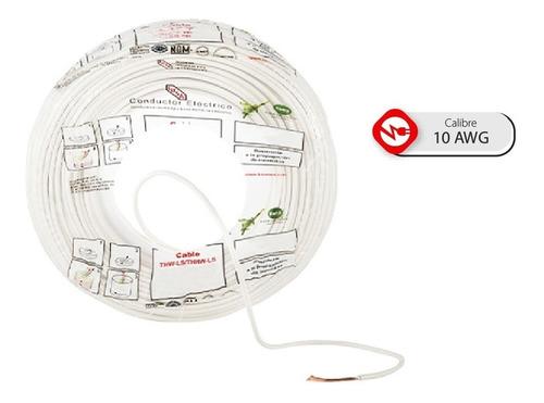 Imagen 1 de 7 de Bolsa 50 Mts Cable Iusa Rojo Thw Cal 10 Awg 100%cobre