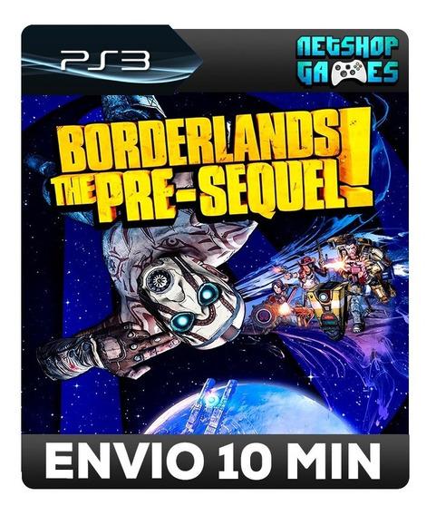 Borderlands: The Pre-sequel - Psn Ps3 - Envio Imediato
