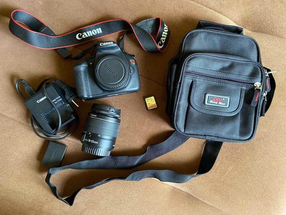 Câmera Cânon Eos Rebel T5