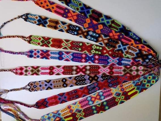 Cinto Para Sombreros Tejidos Set De 12 Piezas