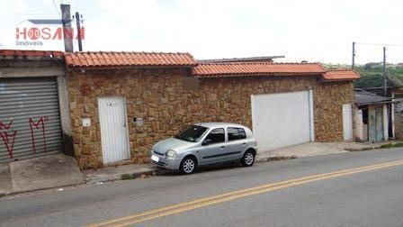 Sobrado Residencial À Venda, Jardim Progresso, Franco Da Rocha. - So0494