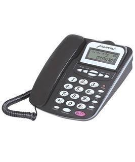 Teléfono Con Display Ajustable Negro Mitzu 320