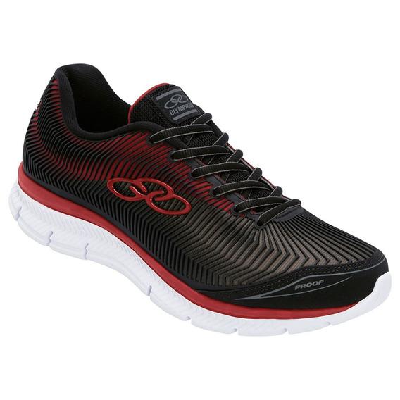Tenis Olympikus Proof Masculino Caminhada 45 Ao 48 Preto