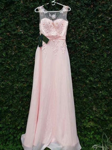 Vestido Largo - Maxi Vestido Rosado