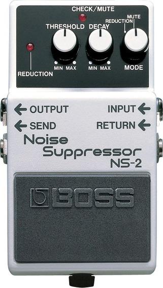 Pedal Boss Efeito Guitarra Ns-2 - Noise Suppressor