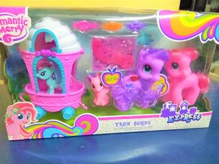 Pony Juguete Con Carrito 9908