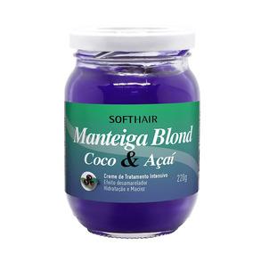 Manteiga Blond Coco E Açaí 220g