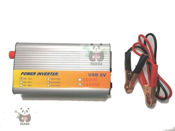 Inversor Veicular 1000w De Potência Transformador 12v 220v