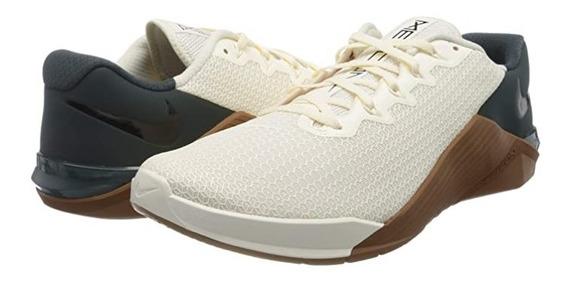 Tenis Nike Metcon 5 Gym Crossfit Pesas Correr Pale Ivory H