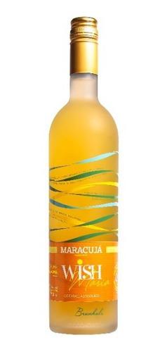 Imagem 1 de 3 de Wishmaria Maracujá - Coquetel Drink Pronto Natural
