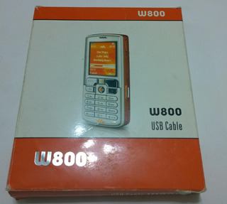 Cable Usb Para Sony Ericsson W710 W800 W810 W850 W880 W900