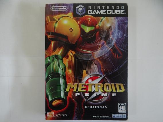 Metroid Prime - Gamecube Jp - Completo!