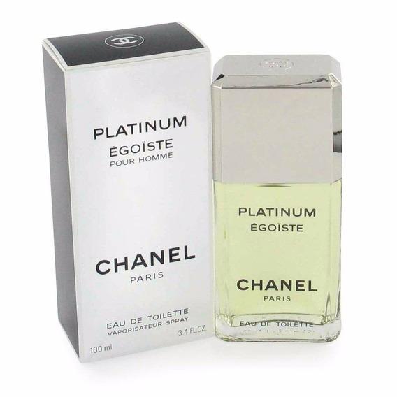 Perfume Chanel Platinum Egoiste Pour Homme Edt 100ml