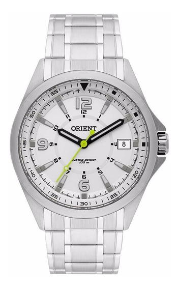 Relógio Orient Masculino Mbss1270 S2sx Prata Aço