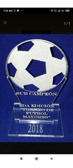 50 Souvenirs Trofeo Acrílico