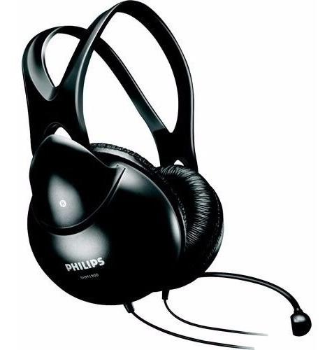 Fone De Ouvido Com Microfone Headset P2 Philips Shm1900