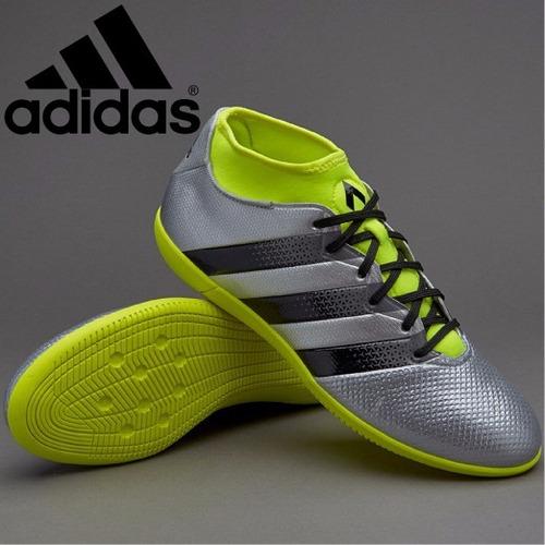 Zapatillas adidas Ace 16.3 - In (para Losa) - Plateado