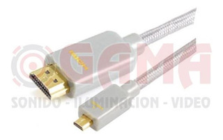 Cable Armado 1 Plug Hdmi A 1 Plug Micro Hdmi 5m. Cp02-01-009