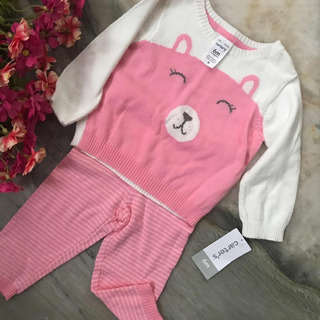 Ropa Para Bebe Carters 6 Meses Blusa Y Pantalon