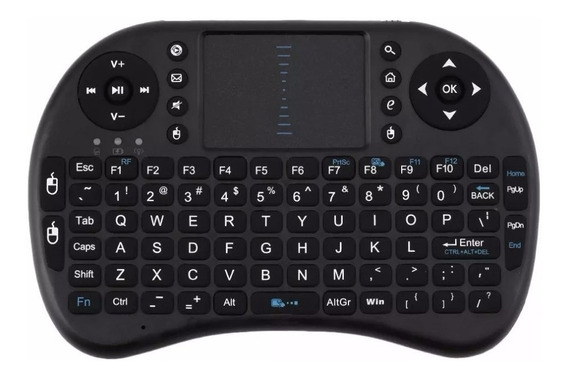 Mini Teclado Touch Pad Wireless Pc Notebook Tv Box Android