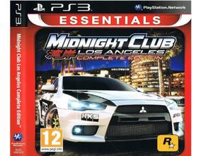 Midnight Club Los Angeles Ed.completa Ps3 Jogo Digital Psn