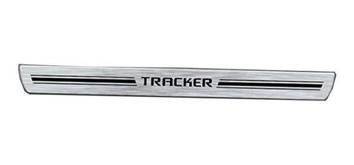 Jogo Soleira Premium Elegance Tracker  4portas 2014
