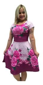 Vestido Boneca Acinturado Feminino Evangélico Social Gode