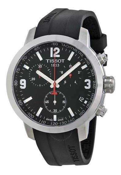 Relógio Tissot Prc 200 T055.417.17.057.00 Preto Borracha