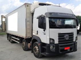 Vw 24.280 Bitruck Frigorífico Gancheiro Tk T 1080 S 2013