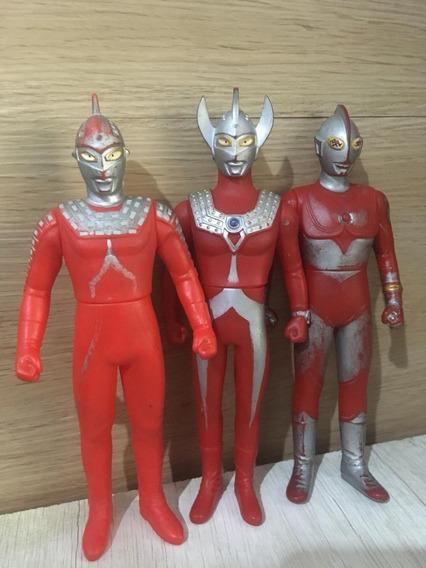 Bonecos Ultraman - 3 Pack