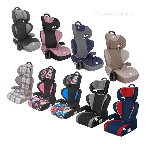 Cadeira Rosa Azul Preta Assento Booster Encosto Tutti Baby