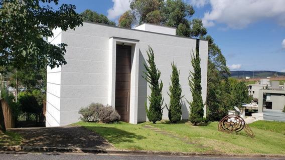 Casa Para Locação Em Estilo Loft, Moderna E Despojada, Fundos Para A Área De Preservação, Em Alphaville Lagoa Dos Ingleses. - 710