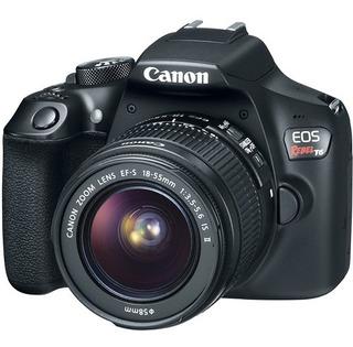 Cámara Canon Eos Rebel T6 Kit Con Lente 18-55mm Y Curso Onli
