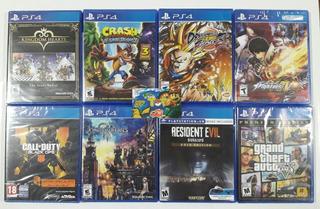Ps4 Kingdom Hearts, Crash, The King, Gta V - Tiendatopmk