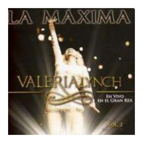 Lynch Valeria La Maxima Vol 2 Cd Nuevo
