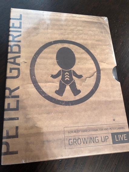 Peter Gabriel Growing Up Live Digipack Dvd