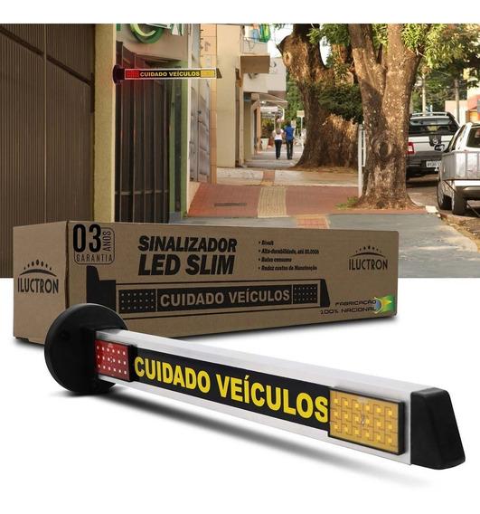 Sinalizador De Garagem Led Iluctron Bivolt 3,6w 72 Leds
