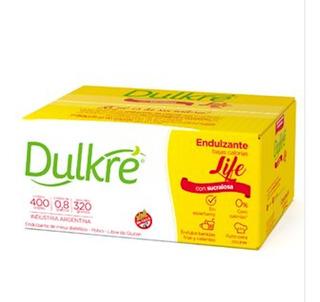 Edulcorante Dulkre Life Sucralosa Sobres X400