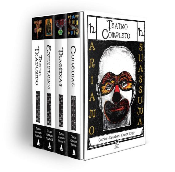 Box Teatro Completo Ariano Suassuna 4 Volumes + Frete Grátis