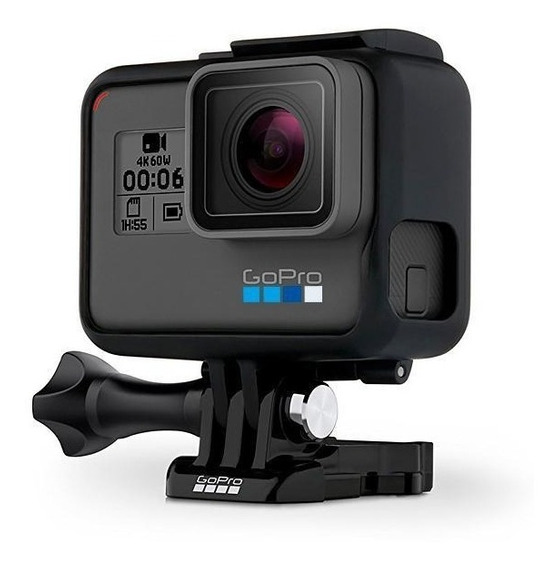 Gopro Hero 6 Black 12mp 4k Com Wi-fi