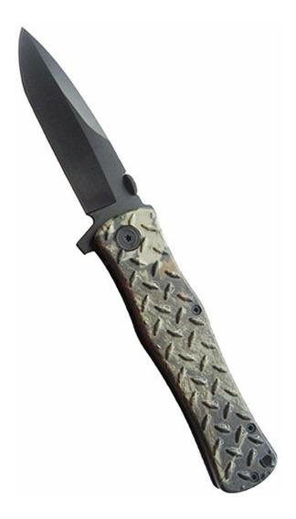 Canivete Sobrevivência Aço Bushcraft Forest Camo Echolife