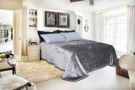 Cobertor Toque De Luxo Cama Casal 220 X 240 - Europa