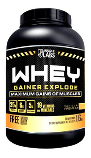 Whey Gainer Explode Anabolic Labs 1,6kg - Baunilha