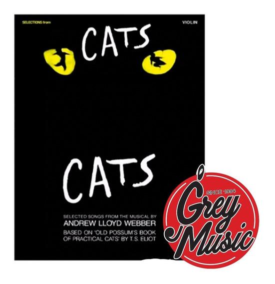 Libro Hal Leonard Hl00841197 Cats Para Violin